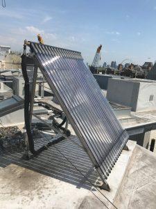 Solar panel installed by LHPS Ltd