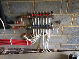 Underfloor heating installed by LHPS Ltd